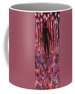 Walking Away Coffee Mug