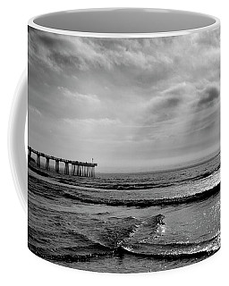 Coffee Mug featuring the photograph Walking By Hermosa by Michael Hope