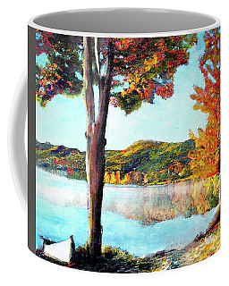 Walking Down Lake Champlain Coffee Mug
