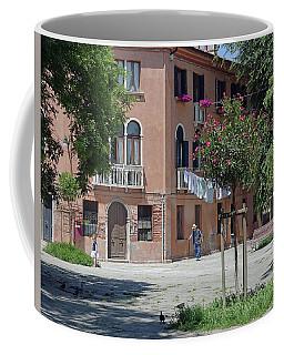 Walking In A Quiet Neighborhood On Murano Coffee Mug