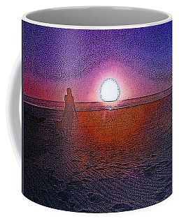 Walking In The Glow Coffee Mug