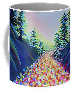 Walking In The Light Coffee Mug