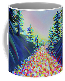 Walking In The Light Coffee Mug