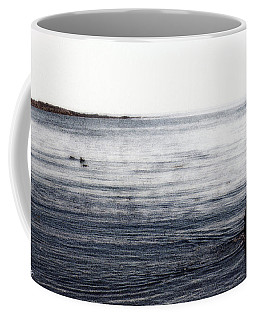 Coffee Mug featuring the photograph Walking In The Water by Wayne King