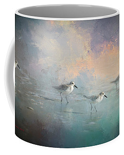 Walking Into The Sunset Coffee Mug