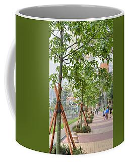 Walking Macau China Coffee Mug