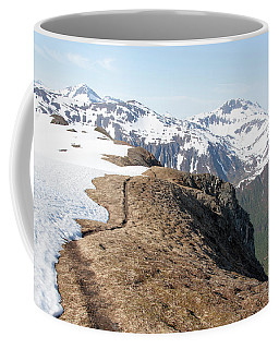 Walking On A Mountain Coffee Mug