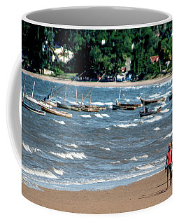 Walking On Ketembe Beach Coffee Mug