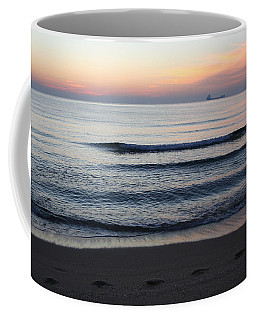 Coffee Mug featuring the photograph Walking On Shore by Eric Christopher Jackson