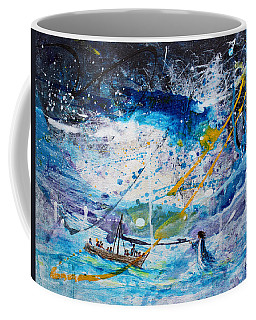 Walking On The Water Coffee Mug by Kume Bryant