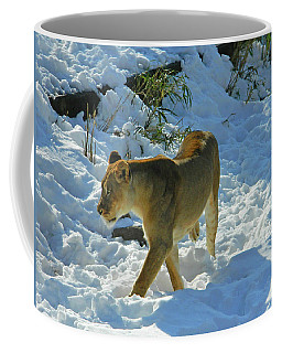 Walking On The Wild Side Coffee Mug