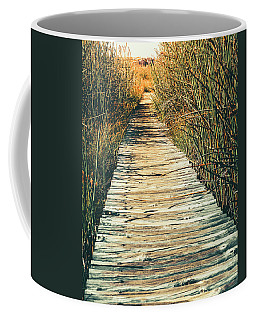 Coffee Mug featuring the photograph Walking Path by Alexey Stiop