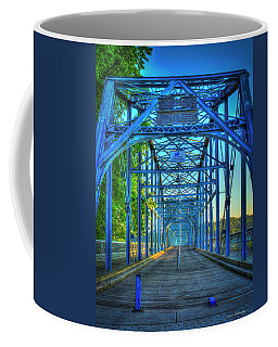 Walking Tall Walnut Street Pedestrian Bridge Art Chattanooga Tennessee Coffee Mug