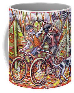 Walking The Dog 2 Coffee Mug