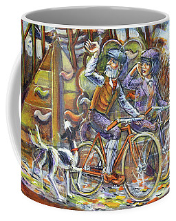 Walking The Dog 3 Coffee Mug