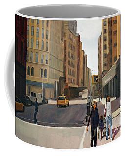 Walking The Lines Coffee Mug