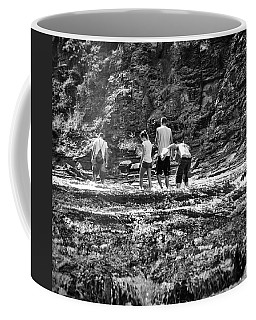 Walking The River Coffee Mug
