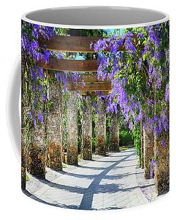 Walkway Of Queens Wreath Flowers  Coffee Mug