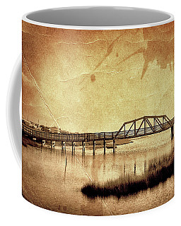 Walkway Over The Sound, Topsail Beach, North Carolina Coffee Mug