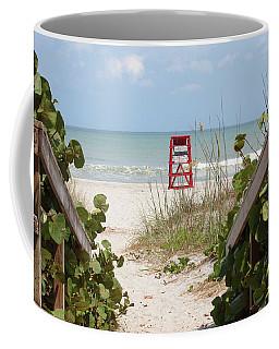 Walkway To The Beach Coffee Mug
