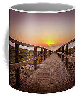 Walkway To The Sunrise Coffee Mug
