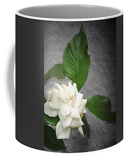 Coffee Mug featuring the photograph Wall Flower by Carolyn Marshall
