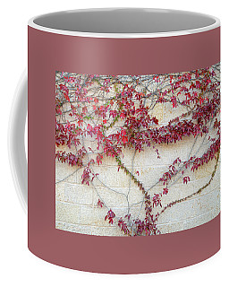 Wall Of Leaves 2 Coffee Mug
