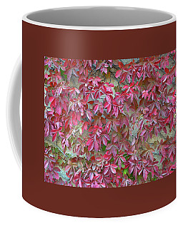 Wall Of Leaves 1 Coffee Mug