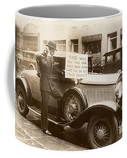 Wall Street Crash, 1929 - To License For Professional Use Visit Granger.com Coffee Mug