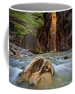 Wall Street Of The Narrows Coffee Mug