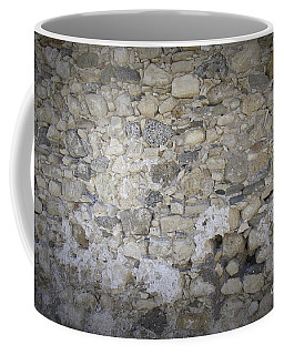 Wall Surface At Kales Fort In Lerapetra Coffee Mug