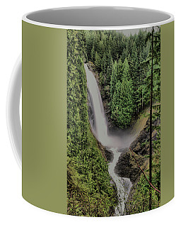 Coffee Mug featuring the photograph Wallace Falls by Jeff Swan