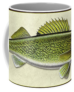 Walleye Id Coffee Mug