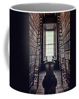 Walls Of Books Coffee Mug
