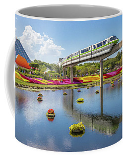 Coffee Mug featuring the photograph Walt Disney World Epcot Flower Festival by Robert Bellomy