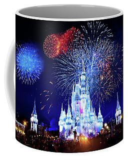 Walt Disney World Fireworks  Coffee Mug by Mark Andrew Thomas