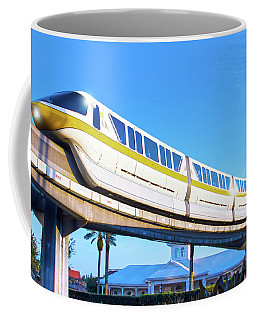 Coffee Mug featuring the photograph Walt Disney World Monorail by Mark Andrew Thomas