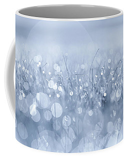 Waltz In The Garden Blue Coffee Mug