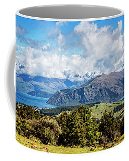 Coffee Mug featuring the photograph Wanaka New Zealand by Joan Carroll