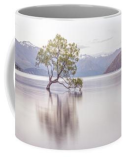 Wanaka Tree Coffee Mug by Racheal Christian