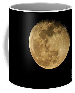 Waning Gibbous Coffee Mug by David Bearden