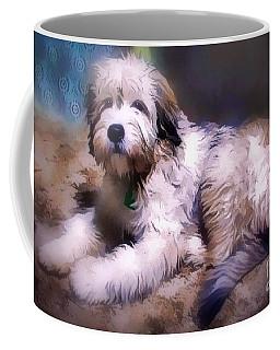 Coffee Mug featuring the digital art Want A Best Friend by Kathy Tarochione