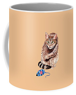 Want To Play Coffee Mug by Anastasiya Malakhova