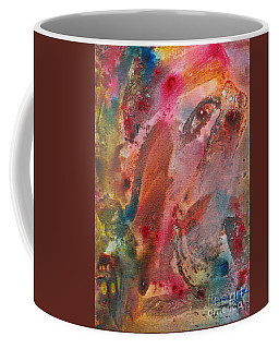 Wanting To See Or Not Coffee Mug by Denise Hoag