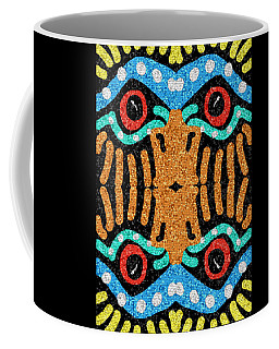 War Eagle Totem Mosaic Coffee Mug