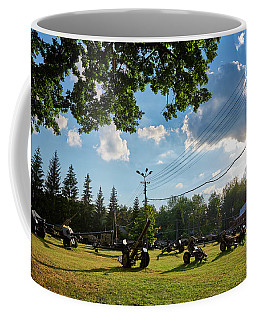 Coffee Mug featuring the photograph WAR by Tgchan
