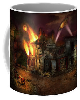 War - Wwi - Not Fit For Man Or Beast 1910 Coffee Mug by Mike Savad