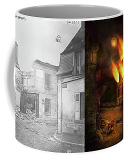 Coffee Mug featuring the photograph War - Wwi -  Not Fit For Man Or Beast 1910 - Side By Side by Mike Savad