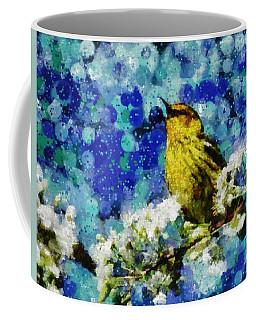 Warbler Of Spring Coffee Mug
