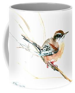 Warbler Songbird Art  Coffee Mug